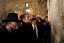 Macron berates Israeli security men in tussle at Jerusalem church