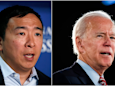 Undecided 2020 voters like Andrew Yang and Joe Biden the most of all the Democratic candidates