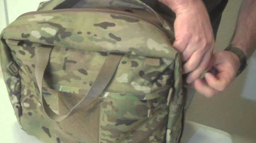 What's Hiding In This Mans Tactical Bag?