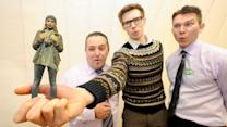 Supermarket Offers 3D-Printed Selfies