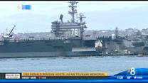 USS Ronald Reagan hosts Japan tsunami memorial