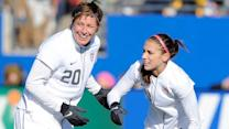 Alex Morgan on advice from Abby Wambach