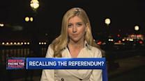 Recalling the referendum?