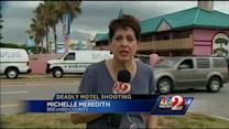 Man, 23, shot to death at Fawlty Towers Motel