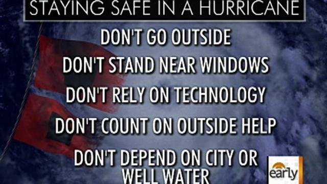 Irene: What to do and what not to do