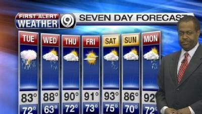 Tuesday Could Start With Showers, Storms