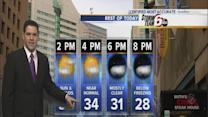 Thursday's Forecast:: Weekend warm up on the way