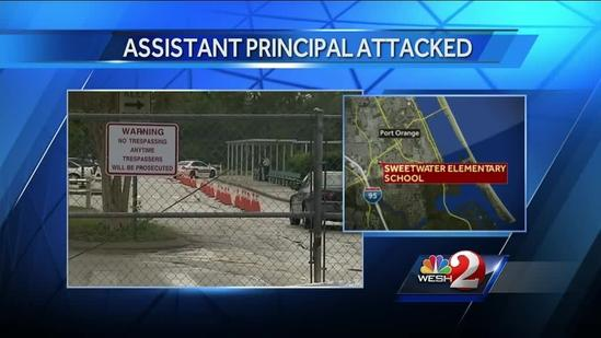 Intruder attacks assistant principal, forcing canceled classes