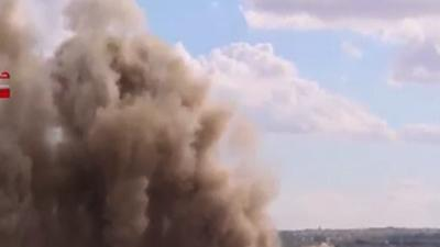 Raw: Syrian Forces Attack Region Amid Elections