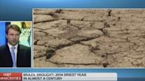 Will Brazil's drought make a cup of coffee more expensive...