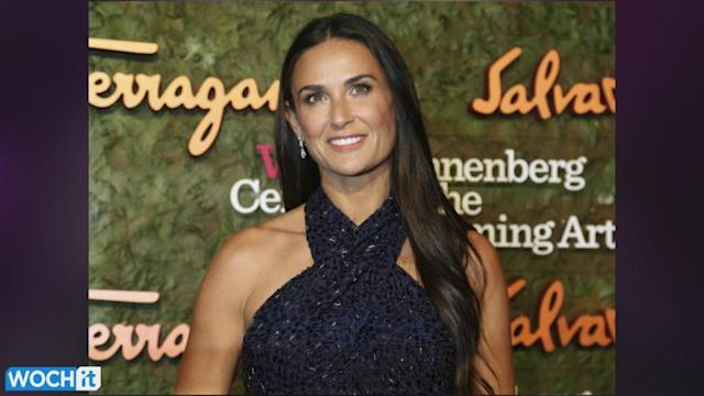 Demi Moore Looking Radiant At First Red Carpet Appearance In Months