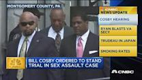 CNBC update: Cosby ordered to stand trial
