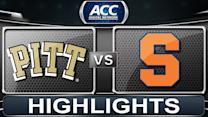 Pittsburgh vs Syracuse | 2013 ACC Football Highlights