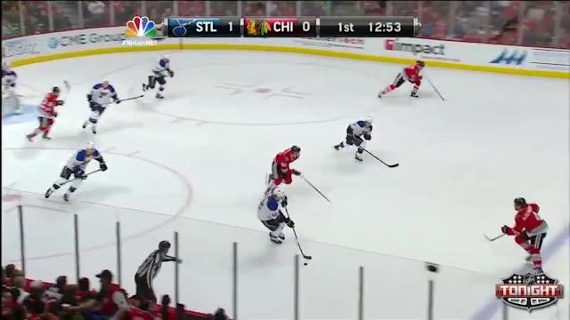 St. Louis Blues at Chicago Blackhawks - 04/06/2014