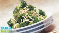 Broccoli, Bean Sprouts and Green Peas Salad by Tarla Dalal