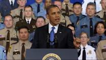 Obama presses his gun proposals in Minnesota