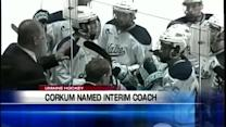 Corkum Named Interim Head Coach
