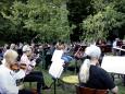 L'orchestre philharmonique de Zagreb se déconfine dans... un zoo