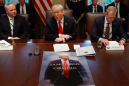 Trump just showed off his 'Game of Thrones' poster in a cabinet meeting. But he missed one key detail.