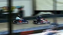 Kyle Busch Spins Out At Olathe Go Kart Track