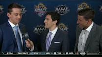 Strome brothers speak before the NHL Draft