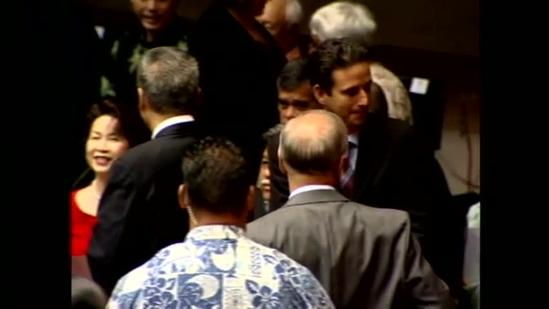 Senator Schatz back home
