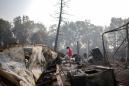 Oregon wildfire melts trucks, leaves warlike destruction in wake