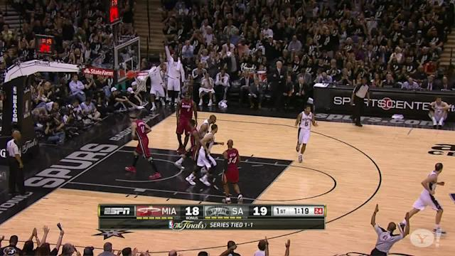 Danny Green, Gary Neal lead Spurs to blowout win over Heat