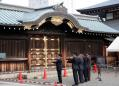 Japan PM Abe sends ritual offering to war dead shrine on World War Two 75th anniversary