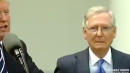 Mitch McConnell Looking Queasy With Trump Prompts #FreeMcConnell Tweets
