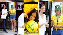 Brazilian Supermodels Embrace the World Cup