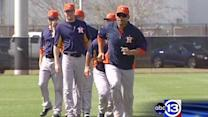Astros ready to start spring training schedule