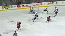 Mark Giordano blasts one top-shelf on Hiller