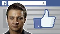 How To Compliment Jeremy Renner On Facebook: Video Tutorial