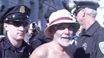Raw: Arrests at San Francisco Nudity Ban Protest