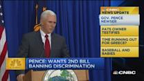 CNBC update: Gov. Pence speaks out