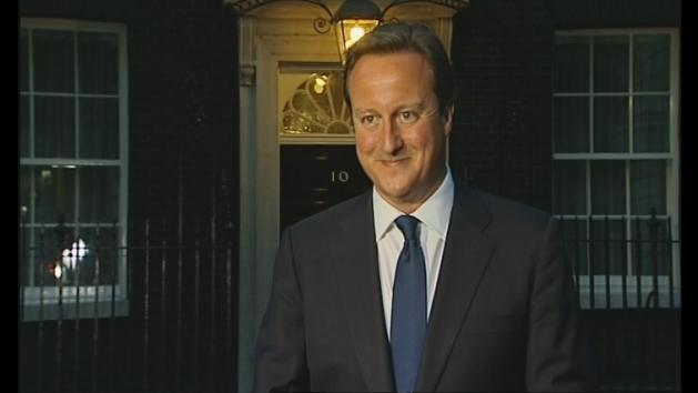 PM David Cameron welcomes royal baby
