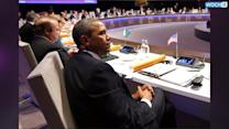Obama, World Leaders Meet To Discuss Russia