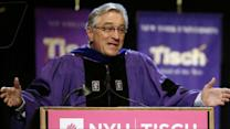 Robert De Niro Delivers 'Tough Love' Graduation Speech
