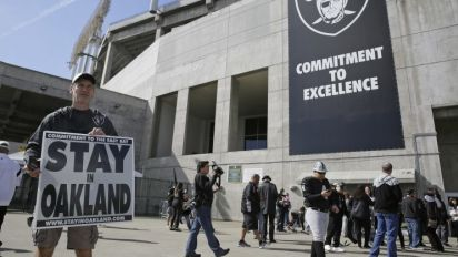 Goodell rejects Oakland's final plan to keep Raiders