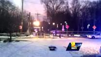 Raw Video: Man shot near Lutherville Light Rail Station