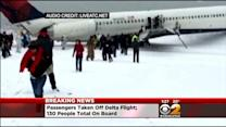 Audio Of Aircraft Skidding Off Runway Being Reported At LaGuardia