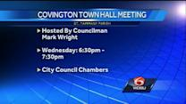 Covington community meeting to discuss various projects in area