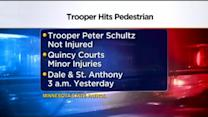 State Trooper Says He Didn't See Pedestrian