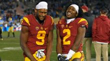 Former USC stars Jackson, Smith-Schuster enjoying pre-draft process