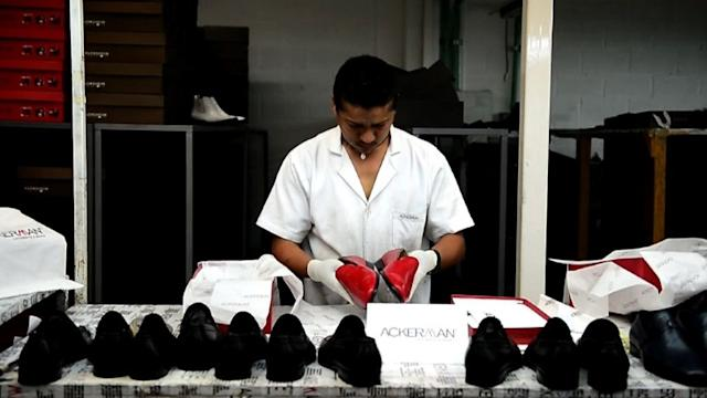Mexican factory that made Pope Benedict's red shoes