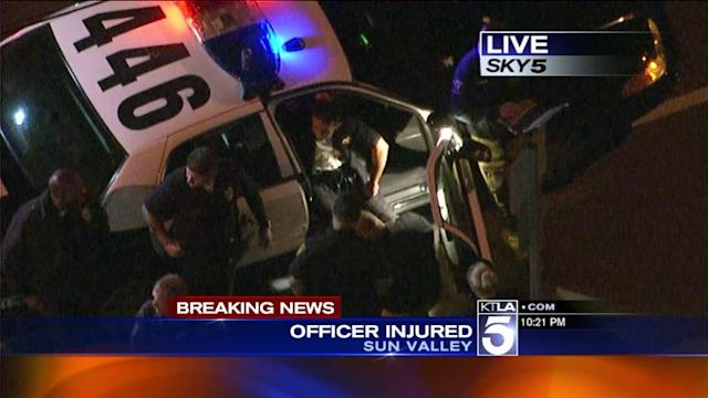 Officer Injured While Transporting Prisoner in Sun Valley