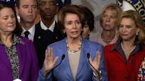 "Pelosi: ""We have to respond"" to Newtown"