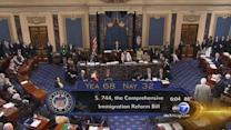 Reaction as landmark immigration bill passes Senate