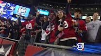 Texans spirit present, lively in New England